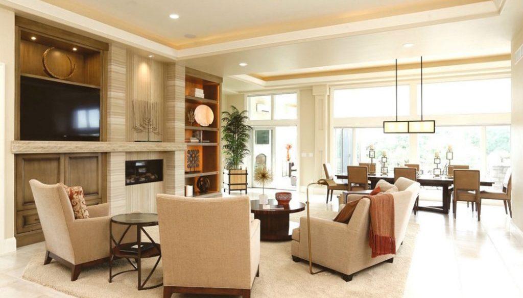 Rhonda Staley IIDA Johnson Way Estate living room
