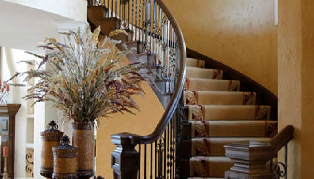 Rhonda Staley IIDA Mississippi Bluffs Estate Indoors staircase