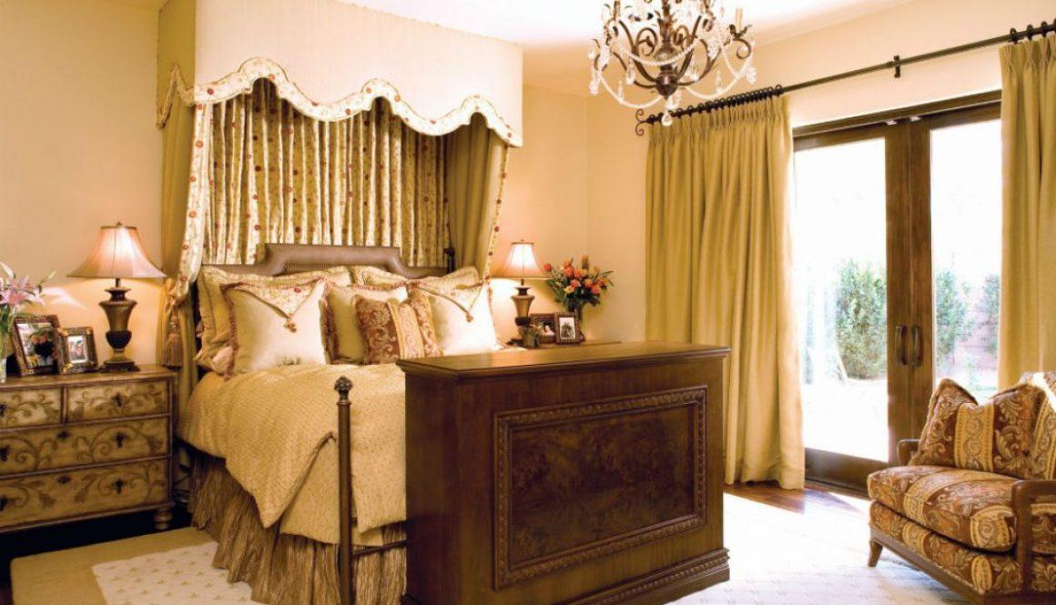 Rhonda Staley IIDA Tuscan Style in Summerlin Las Vegas NV bedroom